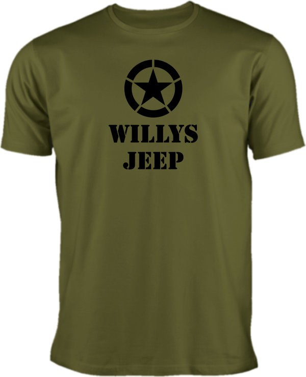 Jeep T-Shirt Willys Jeep